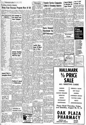 Northwest Arkansas Times from Fayetteville, Arkansas on August 10, 1972 · Page 2