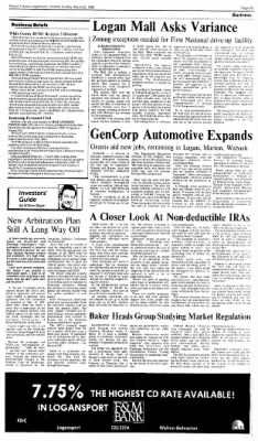 Logansport Pharos-Tribune from Logansport, Indiana on March 20, 1988 · Page 23