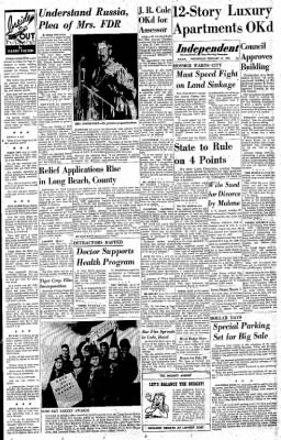 Independent from Long Beach, California on February 12, 1958 · Page 9