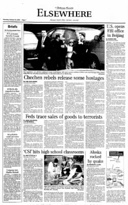 Indiana Gazette from Indiana, Pennsylvania on October 24, 2002 · Page 7