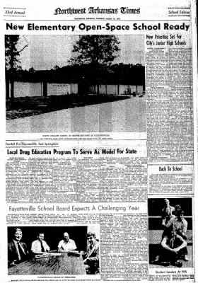 Northwest Arkansas Times from Fayetteville, Arkansas on August 10, 1972 · Page 11