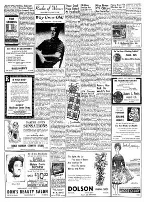 Eureka Humboldt Standard from Eureka, California on April 9, 1962 · Page 7