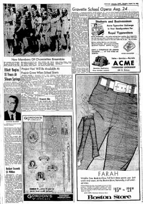 Northwest Arkansas Times from Fayetteville, Arkansas on August 10, 1972 · Page 13