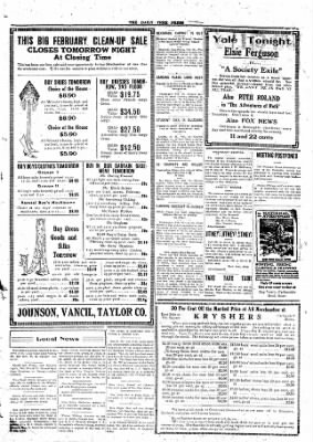 The Daily Free Press from Carbondale, Illinois on February 16, 1920 · Page 3