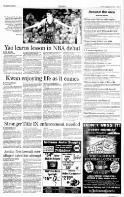 Indiana Gazette from Indiana, Pennsylvania on October 24, 2002 · Page 17
