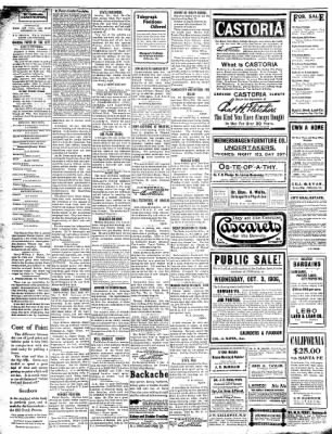 The Chillicothe Constitution-Tribune from Chillicothe, Missouri on October 1, 1906 · Page 2