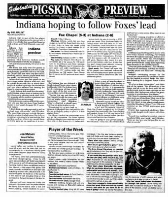 Indiana Gazette from Indiana, Pennsylvania on October 24, 2002 · Page 22