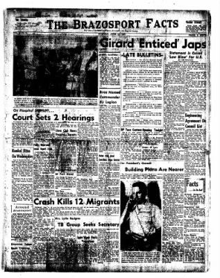 The Brazosport Facts from Freeport, Texas on June 11, 1957 · Page 1