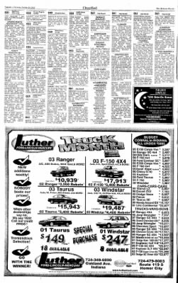 Indiana Gazette from Indiana, Pennsylvania on October 24, 2002 · Page 28