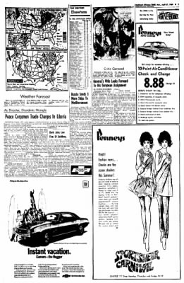 Northwest Arkansas Times from Fayetteville, Arkansas on April 21, 1969 · Page 7