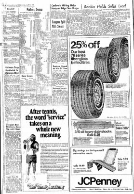 Northwest Arkansas Times from Fayetteville, Arkansas on April 18, 1976 · Page 22