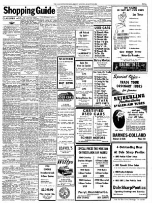 the leavenworth times from leavenworth kansas on august 29 1952 Henry J Willy's the leavenworth times from leavenworth kansas on august 29 1952 page 11
