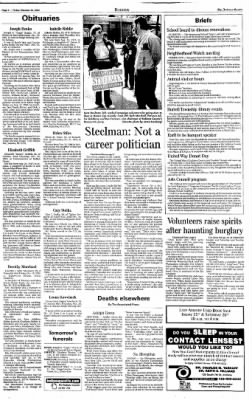 Indiana Gazette from Indiana, Pennsylvania on October 25, 2002 · Page 4