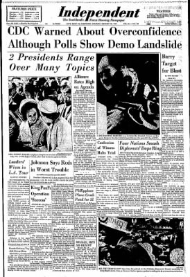 Independent from Long Beach, California on February 22, 1964 · Page 1