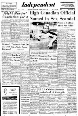 Independent from Long Beach, California on March 12, 1966 · Page 1