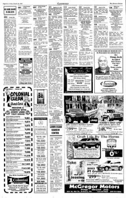 Indiana Gazette from Indiana, Pennsylvania on October 25, 2002 · Page 16