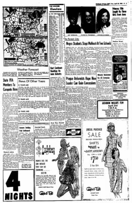 Northwest Arkansas Times from Fayetteville, Arkansas on April 22, 1969 · Page 3