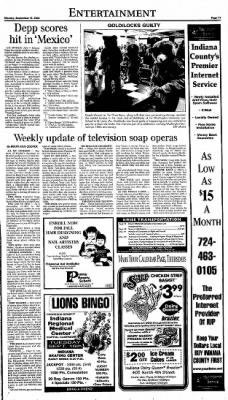 Indiana Gazette from Indiana, Pennsylvania on September 13, 1990 · Page 11