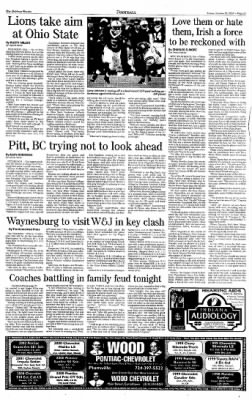 Indiana Gazette from Indiana, Pennsylvania on October 25, 2002 · Page 27