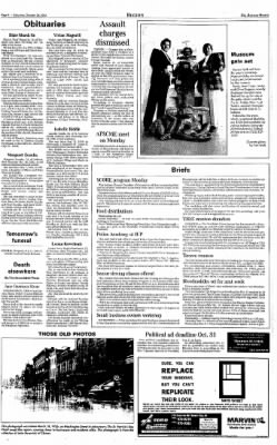 Indiana Gazette from Indiana, Pennsylvania on October 26, 2002 · Page 4