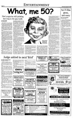 Indiana Gazette from Indiana, Pennsylvania on October 26, 2002 · Page 10
