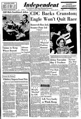 Independent from Long Beach, California on February 24, 1964 · Page 1