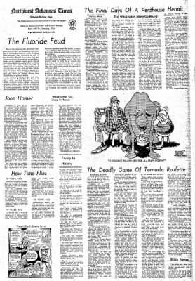 Northwest Arkansas Times from Fayetteville, Arkansas on April 21, 1976 · Page 4