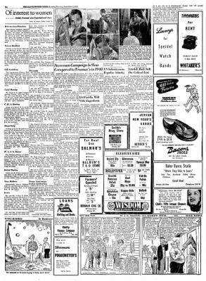 The Leavenworth Times from Leavenworth, Kansas on September 2, 1952 · Page 6