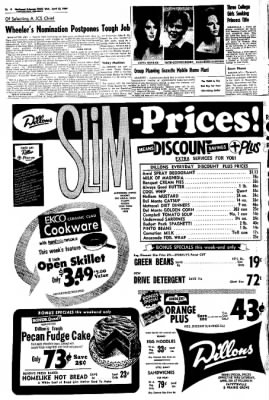 Northwest Arkansas Times from Fayetteville, Arkansas on April 23, 1969 · Page 16