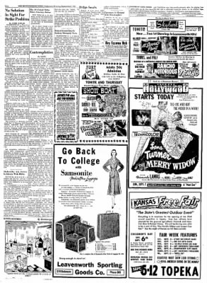 The Leavenworth Times from Leavenworth, Kansas on September 3, 1952 · Page 2