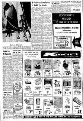 Northwest Arkansas Times from Fayetteville, Arkansas on April 21, 1976 · Page 17