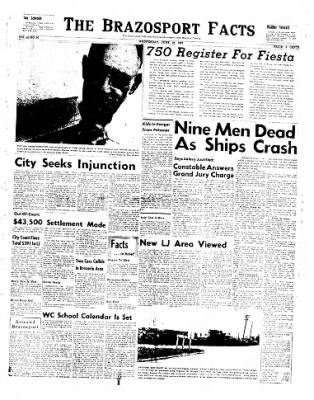 The Brazosport Facts from Freeport, Texas on June 19, 1957 · Page 1