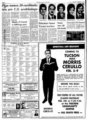 Tucson Daily Citizen from Tucson, Arizona on February 3, 1973 · Page 6