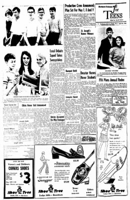 Northwest Arkansas Times from Fayetteville, Arkansas on April 24, 1969 · Page 6