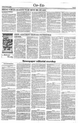Indiana Gazette from Indiana, Pennsylvania on October 27, 2002 · Page 7