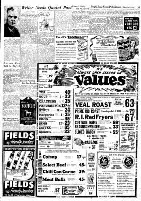 Tucson Daily Citizen from Tucson, Arizona on November 2, 1950 · Page 4