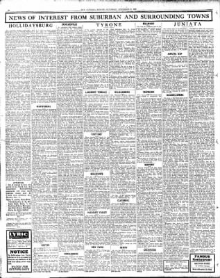 Altoona Mirror from Altoona, Pennsylvania on November 9, 1929 · Page 14