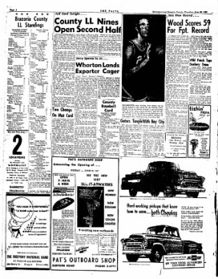 The Brazosport Facts from Freeport, Texas on June 20, 1957 · Page 2