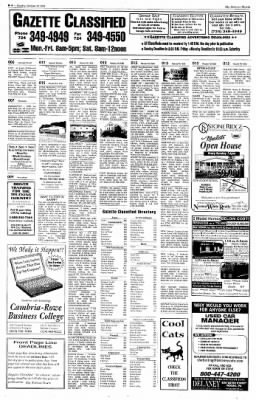 Indiana Gazette from Indiana, Pennsylvania on October 27, 2002 · Page 14