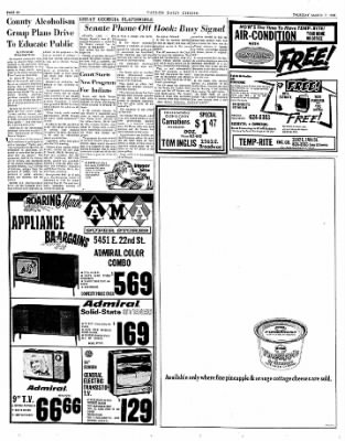 Tucson Daily Citizen from Tucson, Arizona on March 7, 1968 · Page 37