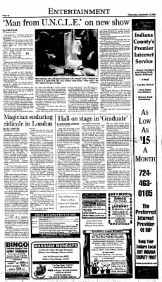 Indiana Gazette from Indiana, Pennsylvania on September 15, 1990 · Page 20