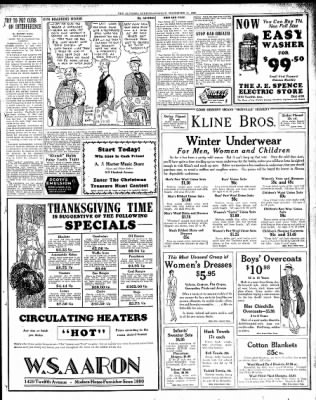 Altoona Mirror from Altoona, Pennsylvania on November 11, 1929 · Page 3