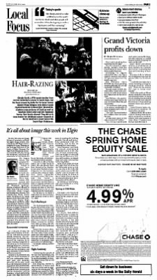 The Daily Herald from Arlington Heights, Illinois on March 9, 2008 · Page 107