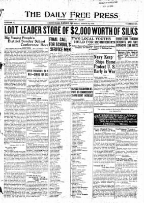 The Daily Free Press from Carbondale, Illinois on March 11, 1920 · Page 1
