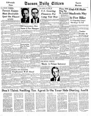 Tucson Daily Citizen from Tucson, Arizona on May 16, 1967 · Page 16