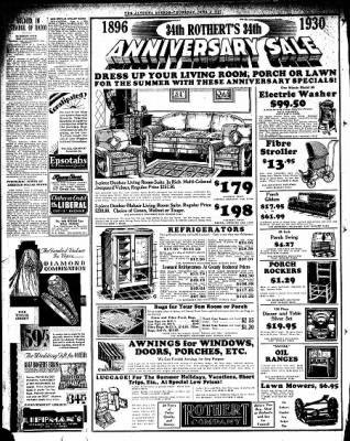 Altoona Mirror from Altoona, Pennsylvania on June 5, 1930 · Page 12