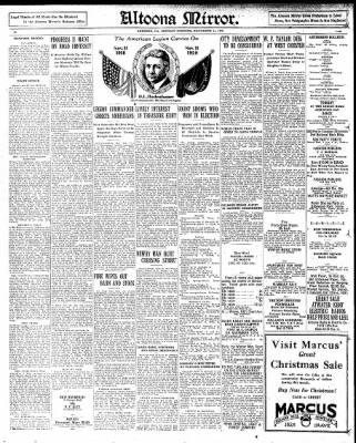 Altoona Mirror from Altoona, Pennsylvania on November 11, 1929 · Page 24