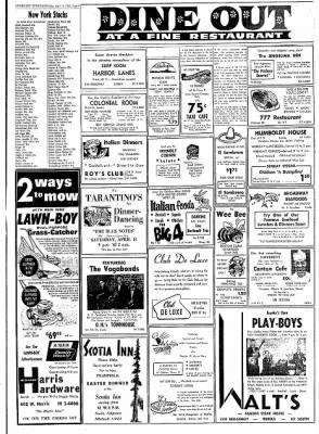 Eureka Humboldt Standard from Eureka, California on April 13, 1962 · Page 9