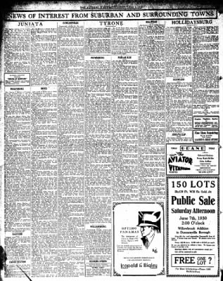 Altoona Mirror from Altoona, Pennsylvania on June 5, 1930 · Page 16