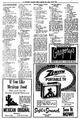 Northwest Arkansas Times from Fayetteville, Arkansas on April 25, 1969 · Page 32
